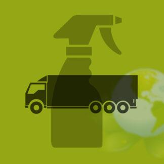 Detergentes para lavado de camiones