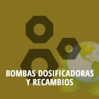 Bombas dosificadoras y recambios