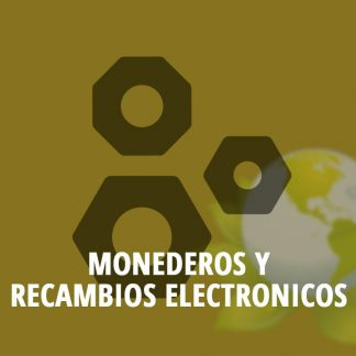 Monederos y recambios electrónicos