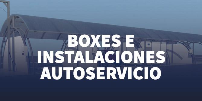 boxes e instalaciones autoservicio