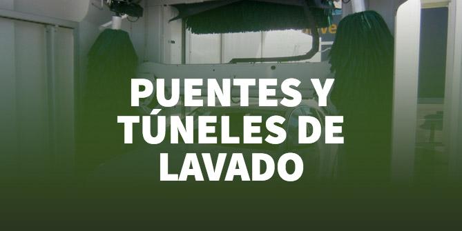 puentes y tuneles de lavado