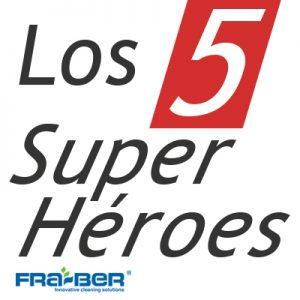 """""""Los 5 Super Héroes vienen con regalo"""""""