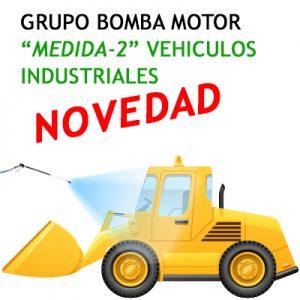 """GRUPO BOMBA MOTOR ""MEDIDA-2"" Vehículo Industrial Opcional Foam"""