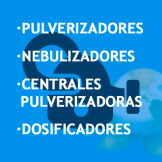 Pulverizadores · Nebulizadores · Centrales Pulverizadoras · Dosificadores