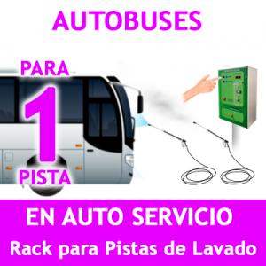 """RACK LAVADO AUTOBUSES PARA 1 PISTA"""
