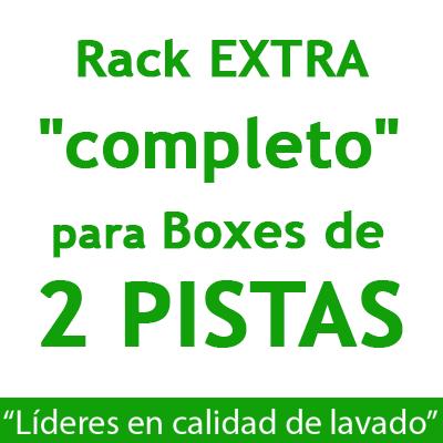 """RACK EXTRA ""completo"": para Boxes de 2 PISTAS."""
