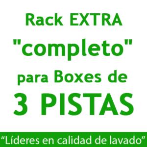 """RACK EXTRA ""completo"": para Boxes de 3 PISTAS."""