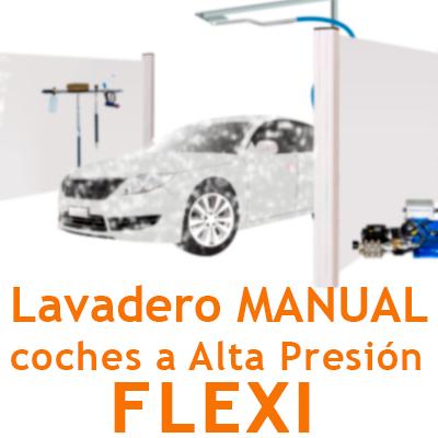 """Pack Lavadero Manual ALTA PRESION FLEXI"""