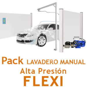 """Pack Lavadero Manual ALTA PRESION FLEXI"""