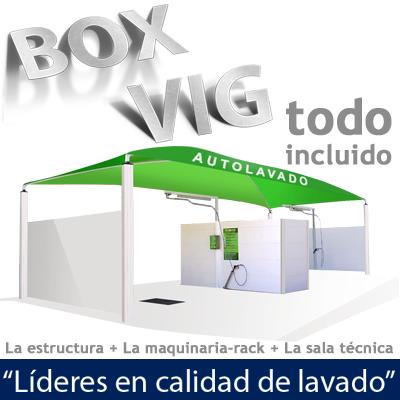 """BOX VIG NEW 4 PILARES (Boxer completo: Rack Sala Técnica Estructura)"""