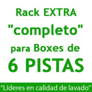 """RACK EXTRA ""completo"": para Boxes de 6 PISTAS."""