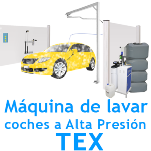 """Máquina TEX lavadero Manual ALTA PRESION"""