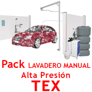 """Pack Lavadero Manual ALTA PRESION TEX"""