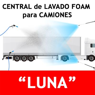 """""""CENTRAL DE LAVADO FOAM Sin descalcificador para CAMIONES"""""""