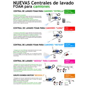 """""""Guía Lavadero Manual FOAM para Camiones"""""""