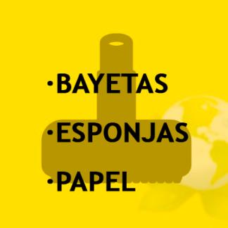 Bayetas-Esponja-Papel-Escurre Gamuzas