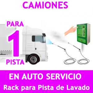 """""""RACK LAVADO DE CAMIONES PARA 1 PISTA."""""""