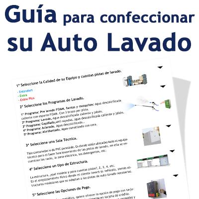 """""""Guía para confeccionar su Auto Lavado"""""""