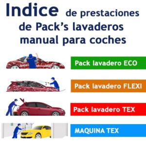 """""""Indice de Prestaciones de lavado de coches manual"""""""