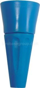 """""""Portaboquilla (tobera) con protección azul"""""""