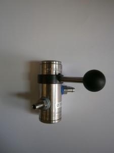 """""""Inyector de espuma en acero inoxidable robusto"""""""